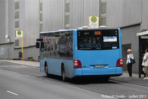 Mercedes Benz Wuppertal Varresbeck by Wuppertal Bus 609