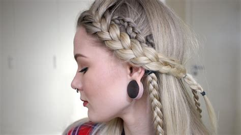 how to do your hair like vikings lagertha lagertha inspired hair look sorry lagertha youtube