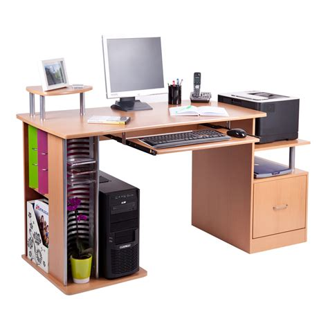Laptop Desk Station with San Diego Computer Desk Work Station Pc Table Bench Home Office Study Furniture Ebay