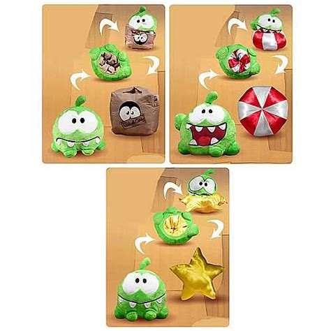 Cut The Rope Papercraft - cut the rope 6 inch reversible plush 5 cut