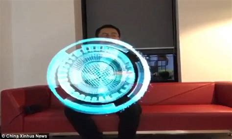 Spiner Hologram ultra cool hologram fans create 3d animation daily mail