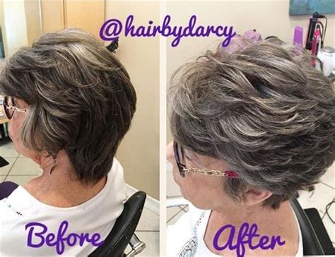 best way to blend gray hair into brown hair ever have a client ask for more gray here s what you do