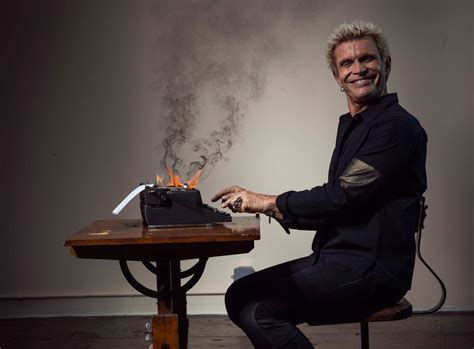 Black And Red Living Room by 80s Icon Billy Idol Is Back To Remind You How Punk Rock