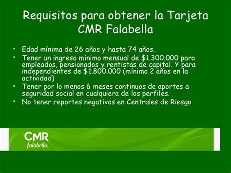 requisitos para obtener una tarjeta de crdito de el banco agrario todo lo que debes saber sobre la tarjeta cmr falabella