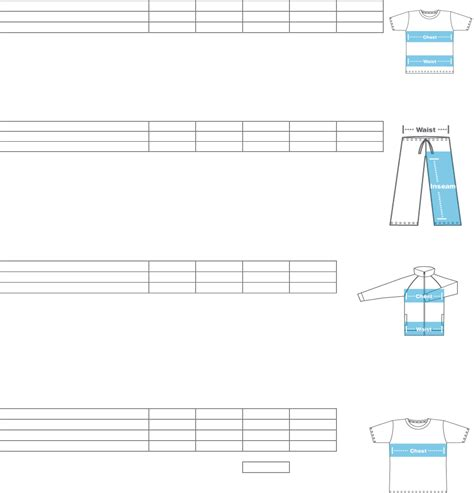 american apparel size chart american apparel size charts free