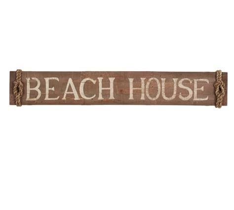 beach house signs beach house sign pottery barn