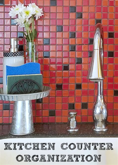 ways to declutter kitchen counters a cute way to declutter your kitchen counters