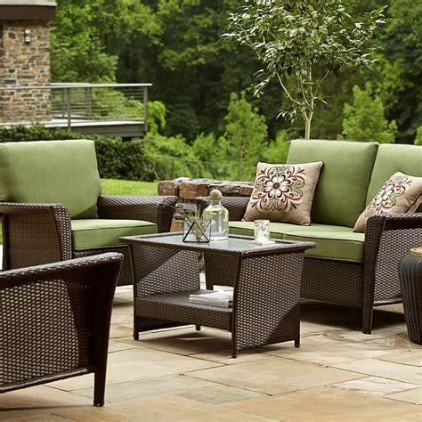 ty pennington style parkside deep seating set green