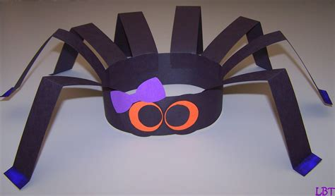 spider craft for lbt spider hat another and easy craft