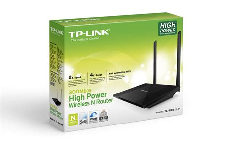 Tp Link Wireless High Power Router Detachable Antennas N300 Tl Wr841hp tp link np tl wr841hp 300mbps high power wireless router indoor 600mw realtek 2t2r 2 4ghz