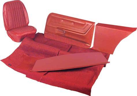 camaro upholstery kits 1967 chevrolet camaro parts interior soft goods