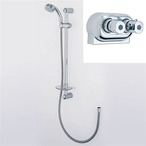 Thermostatic Bath Shower Mixers merrows bathrooms and showers trevi therm exposed