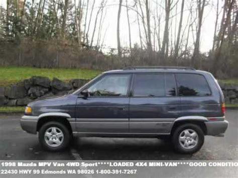 how make cars 1998 mazda mpv navigation system 1998 mazda mpv van 4wd sport runs drives super 3995 youtube
