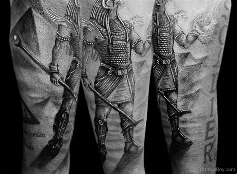 Black And Grey Egyptian Tattoo | egyptian tattoos tattoo designs tattoo pictures page 6