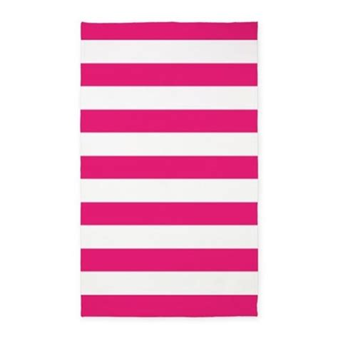 white and pink rug pink and white stripes 3 x5 area rug by inspirationzstore