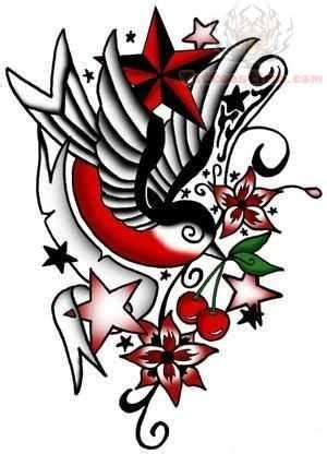 new old school tattoo designs old school color tattoo design tattoos pinterest