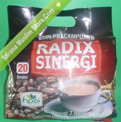 Kopi Radix Sinergi 7 Herba Pilihan Kopi Radix Pak Haji Hpa kopi radix sinergi 7 herba kopi herbal hpai sarana