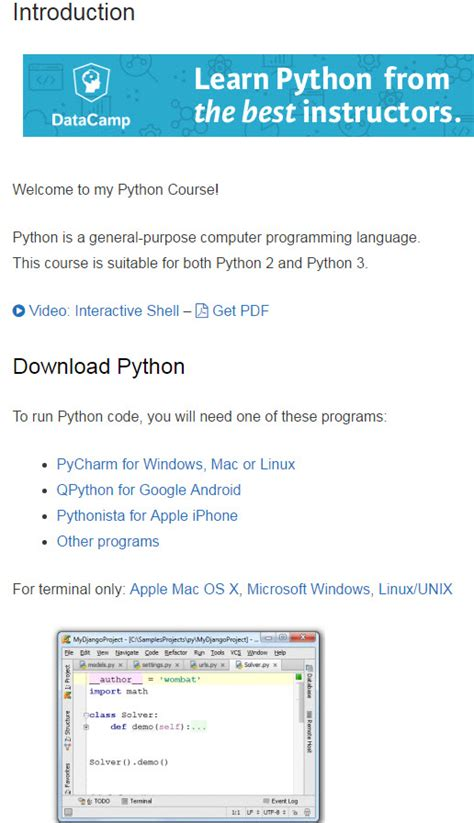 python tutorial best python tutorials opinions one of the best resources for