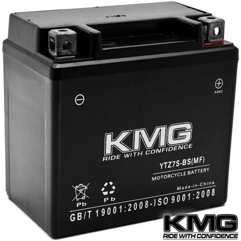 battery kmg motorcycle scooter atv snowmobile mowers