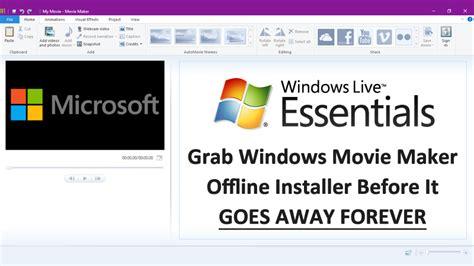 download windows movie maker full version offline windows essentials 2012 microsoft offline installer