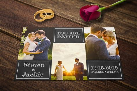 Wedding Announcement Photoshop Template by Wedding Announcement Templates Cards Invitation
