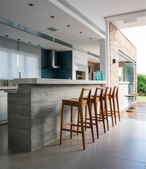 ejemplos de inspiracion de cocinas  encimeras de concreto interiores