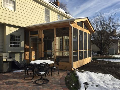 porch and patio archadeck s custom designed screen porch with decks and