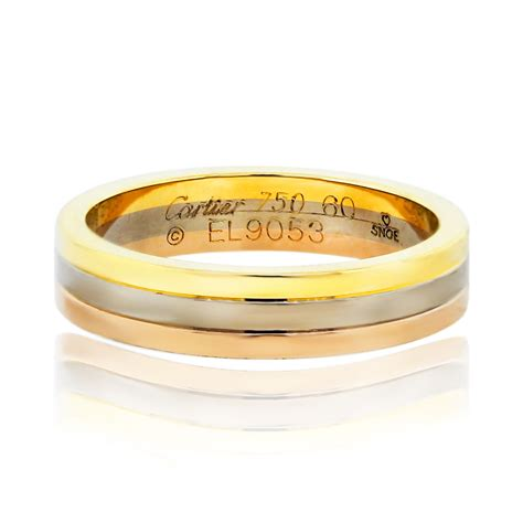 tri color ring epinki damen ringe vergoldet freundschaftsringe ring gold