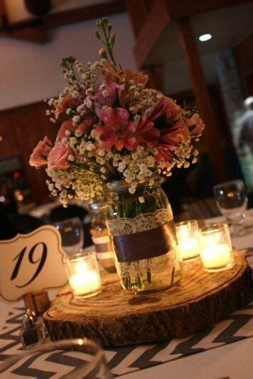 jar wedding centerpieces jar centerpiece