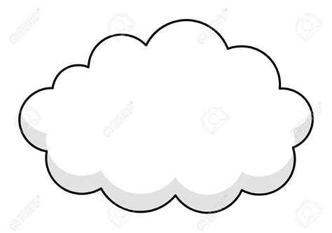 cloud clipart cloud clipart frame pencil and in color cloud clipart frame