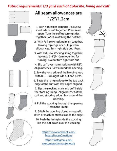 wordpress tutorial handouts color me christmas stocking pattern free pattern tutorial