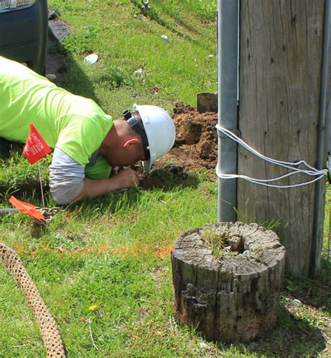 buried cable installation michigan underground construction services