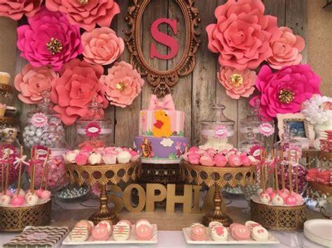 baby shower flower ideas pink flower baby shower baby shower ideas