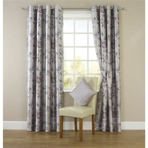 bedroom eyelet curtains wilko floral eyelet curtains silver 167cm x 137cm
