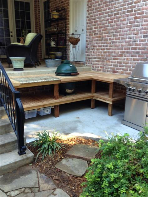 outdoor kitchen table with 51 best kamado table images on pinterest big green eggs