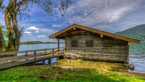 cottage montagna sfondi legna casa capanna cottage baracca tenuta