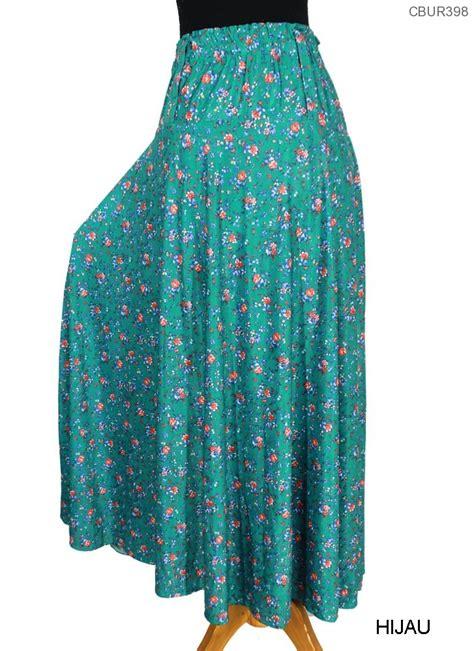 Rok Wanita Panjang Bahan Jersey rok jersey celana rok muslim murah batikunik