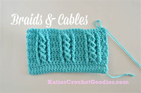 youtube braid pattern braided cable crochet stitch youtube
