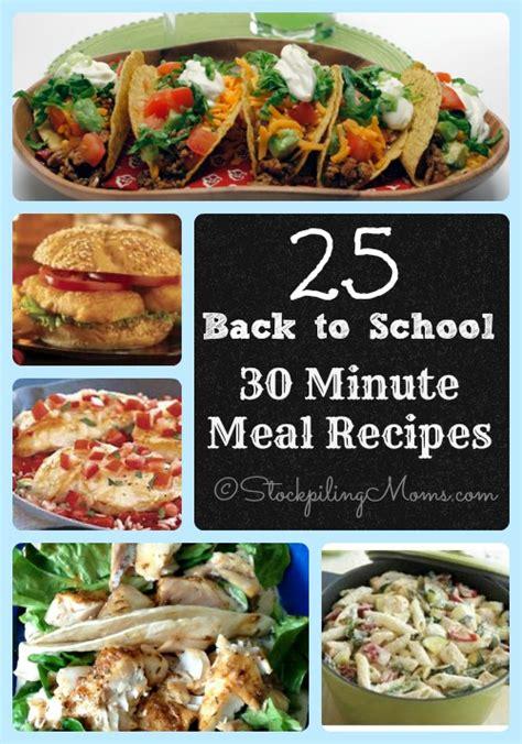 30 minute meals recipes