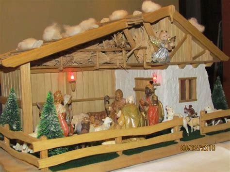 krippe selber bauen basteln zu basteln oder weihnachtskrippe selber bauen bastelideen
