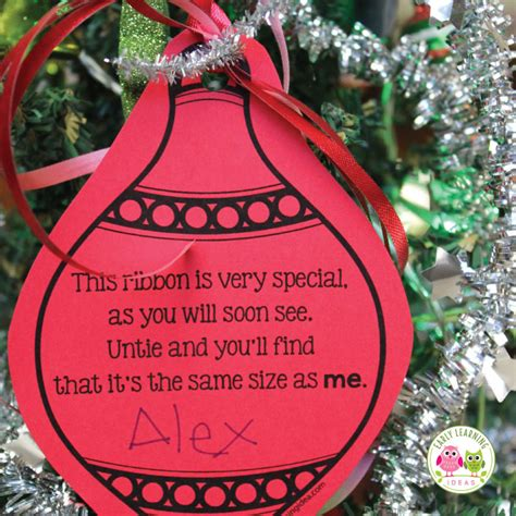 a simple parent gift free christmas ornament printable