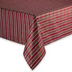 christmas plaid tablecloth bed bath beyond