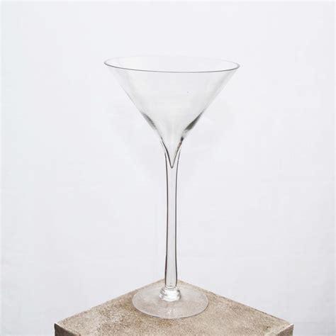 Plastic Martini Vase by Vase Martini 26cm X 50cm Harrisons Hiremaster Wanganui