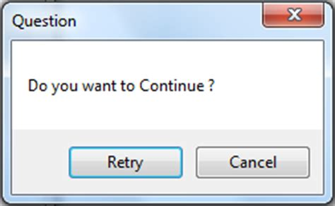 messagebox abort retry ignore buttons and warning icon csharp language messagebox exles in c winforms