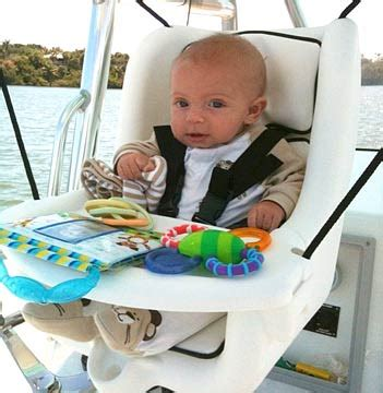 boat safety for infants searock 174 marine grade baby seats for boat and home