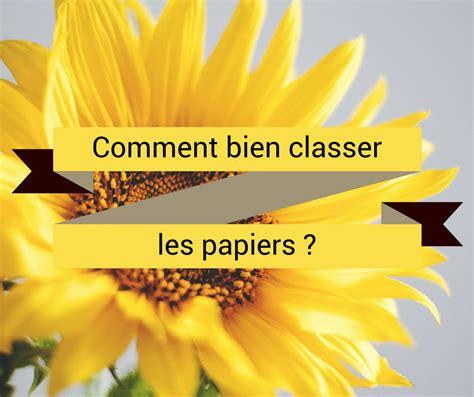 Comment Organiser Ses Papiers by Comment Classer Ses Papiers Classeur Maison Design