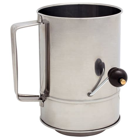 Flour Sifter cuisena rotary flour sifter 5 cup s of kensington
