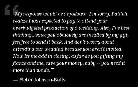 Wedding Gift When Not Attending by Wedding Gift Etiquette Not Attending Gift Ftempo