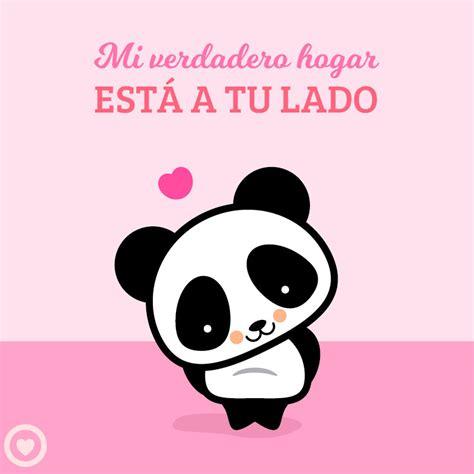 imagenes de amor kawai lindo panda kawaii de amor