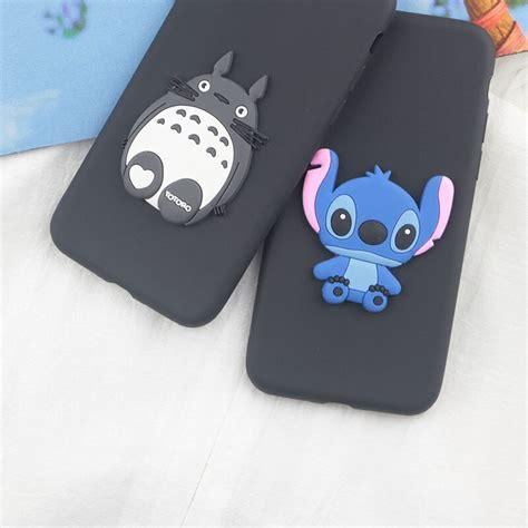 cute cartoon stitch case  huawei p pro p p  p